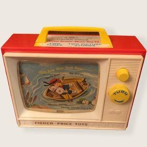 Vintage 1966 Fisher Price Music Box